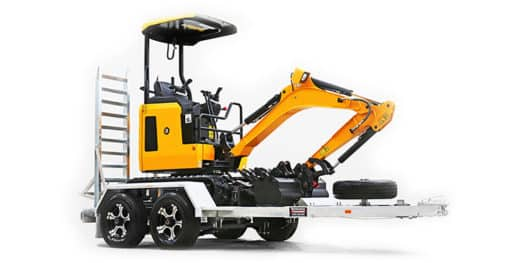 Perth Trailers for Excavators
